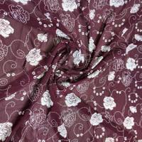 kain sifon ceruty yoryu/bahan blouse dan kerudung