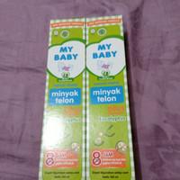 minyak telon my baby 150ml plus eucalyptus
