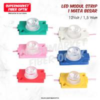 Lampu LED Modul Strip 12V 24V LampuLED 12Volt 12 V 1.5W 1 Mata - Putih