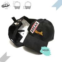 Topi - Topi Distro Berak - Topi Baseball Berak [COD] Unisex
