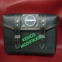 tas backrack vespa tas bagasi belakang vespa tas Vespa modern & klasik
