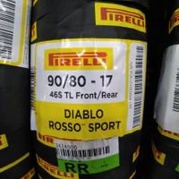 Ban motor sport PIRELLI DIABLO ROSSO SPORT UKURAN 90/80-17 satria F