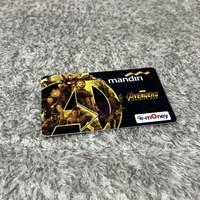 Kartu emoney mandiri avenger / kartu flazz bca gen 2