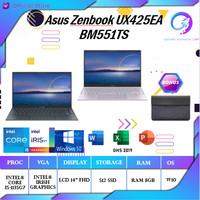 ASUS Zenbook UX425EA BM551TS | i5 1135G7 IrisXe 8GB 512ssd +OHS