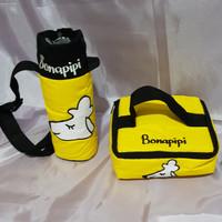 [Tas Bekal] Lunch & Tumbler Bag Motif Pet ARAC