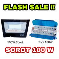 Lampu Sorot led 100 watt lampu tembak 100w sorot kap jalan outdoor led