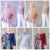 Baju Batik Atasan Tunik Wanita/ AtasanBatik Murah / Tunik Batik Murah