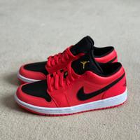 Air Jordan 1 Low Siren Red 2.0 (100% Original) - 41