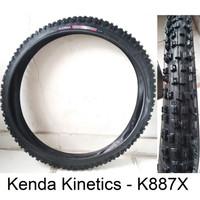 Ban Luar Sepeda 26 x 2.35 235 Kenda Motif Off-Road - Model Fat
