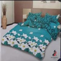 bed cover set Lady rose sprei Flat uk 160x200 motif Lena