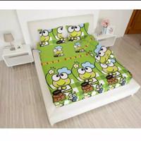 bed cover set Lady rose sprei Flat uk 160x200 motif Keroppi Chef