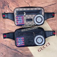 Waistbag pria Gucci Import premium waist bag pria tas selempang pria
