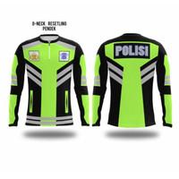 Jersey Baju Kaos Sepeda Lari Voli Bulutangkis Futsal Custom   POLISI