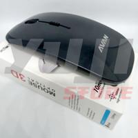 Mouse Slim Wireless OEM PC / Android TV - Avan (Hitam)