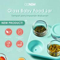 OONEW GLASS BABY FOOD JAR TB-2001/ GELAS MPASI/ WADAH MAKANAN BAYI