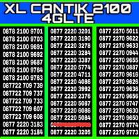 NOMOR CANTIK XL 777