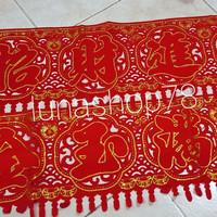 Ornamen dekorasi banner imlek Zhao Cai Jin Bao /Jin Yu Man Tang