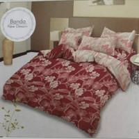 bed cover set Lady rose sprei Flat uk 160x200 motif Banda
