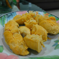 Durian / Duren Kupas Medan Asli Segar 1 kg