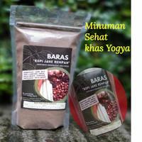 Kopi dan Jahe Rempah BARAS 200gr khas Yogya/ Minuman Sehat - Hitam