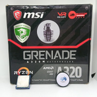 MSI A320M GRENADE AM4 DDR4 MOTHERBOARD GAMING