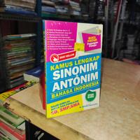 buku kamus lengkap sinonim dan antonim bahasa Indonesia SD SMP SMA