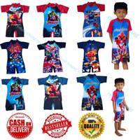 BAJU RENANG DIVING GAMBAR untuk anak tanggung TK-SD Baju Renang Anak