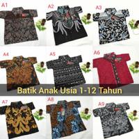 Kemeja Batik Anak Termurah   Baju Batik Anak Usia 2 - 10 Tahun Terbaru