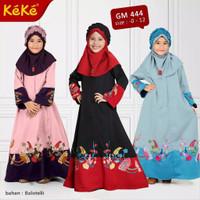 Kekesumut GM 444 Busana Muslim Anak Perempuan Baju Gamis Anak Keke