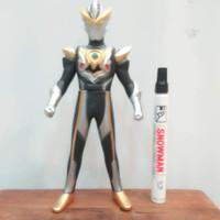 mainan action figure ultraman orb black tinggi sekitar 8 inch