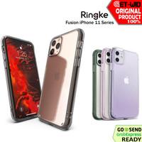 Case iPhone 11 Pro Max / 11 Pro / 11 Ringke Fusion Casing Anti Crack
