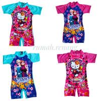 Baju renang anak perempuan usia 4th sampai 8th - FROZEN, M