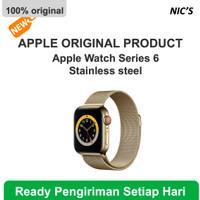 ORIGINAL Apple Watch Series 6 Gold Stainless Steel with Milanese Loop - 40mm