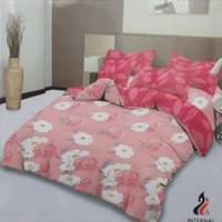 bed cover set Lady rose sprei Flat uk 160x200 motif Shinta