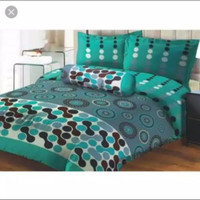 bed cover set Lady Rose sprei Flat uk 180x200 motif Oscar