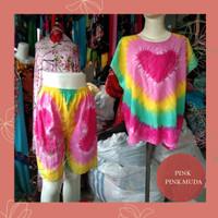Baju Bali / Setelan Pelangi Bali /Setelan Bali Murah / Baby Doll Murah