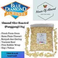 Kacang Almond Slice Panggang (roasted/oven) 1kg