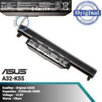 ORI Baterai Original Laptop Asus X45 X45A A45C X45U K45 K45D K55 K75