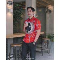 Kebo Bringas II - baju batik - batik slim fit - mensbatik