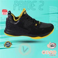 Ardiles DBL PRIDE 2 Hitam/ Kuning - Sepatu Basket Pria Dewasa