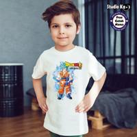 Kaos Baju Anak DRAGON BALL - free cetak nama