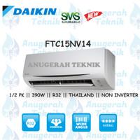 AC SPLIT DAIKIN 0.5 PK 0.5 PK R32 THAILAND NON INVERTER - FTC15NV14