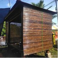 Tirai Bambu-Krey Kulit Bambu 2x2-Kerey Bambu Hitam