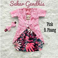 Fashion Batik Anak Perempuan Setelan Kebaya Brukat Sekar Gendhis 3-5