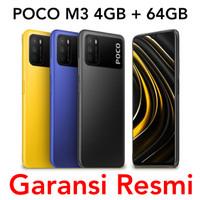 Xiaomi Poco M3 4GB 64GB Garansi Resmi TAM Indonesia 4/64