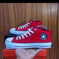 Allstar Semi boot _ sneakers pria _ sneakers wanita - maroon, 36