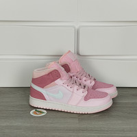 Sepatu Basket Nike Air Jordan 1 Mid WMNS Digital Pink Women