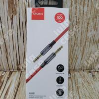VIVAN Kabel Audio AUX 3.5mm 100cm AUX01 ORIGINAL