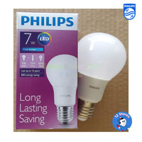 Lampu Philips LED Bulb 7 Watt E27 Warna Kuning
