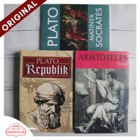 Ori - Paket Buku Plato Republik Matinya Socrates dan Aristoteles Plato